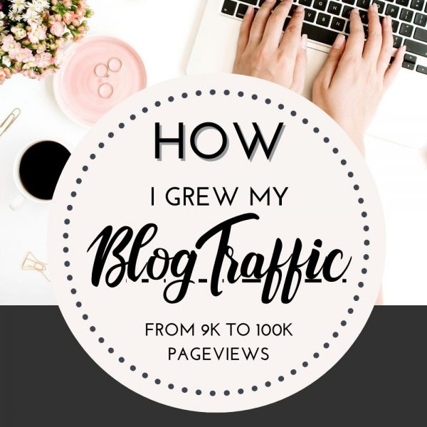 How I grew my blog traffic from 9k to 100k pageviews in 12 months